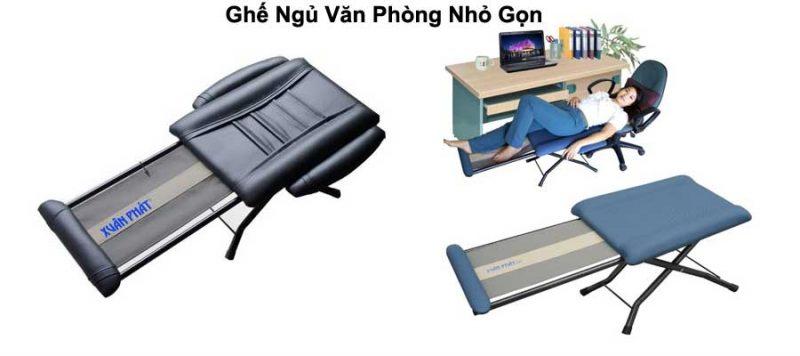 ghế ngủ văn phòng nhỏ gọn