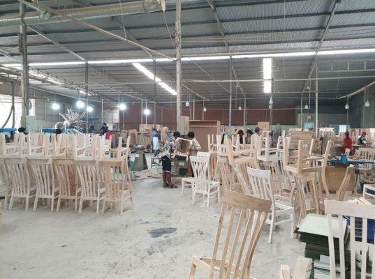 quy trình sản xuất đồ gỗ nội thất