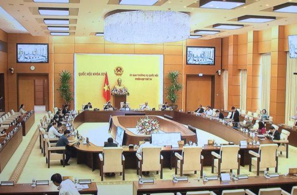 trang trí phòng họp cơ quan nhà nước